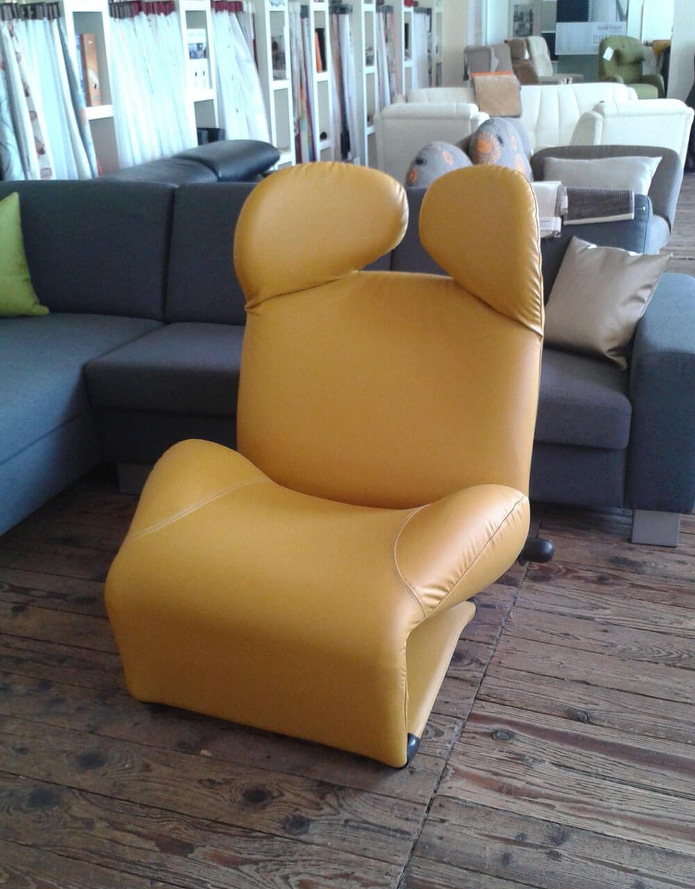 Polsterarbeiten Sessel groß - Raumausstattung Wallner