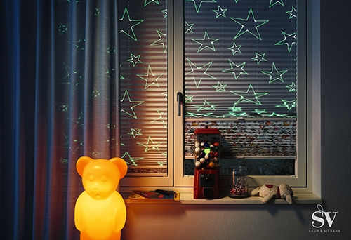 Fensterdekoration Jalousie - Raumausstattung Wallner