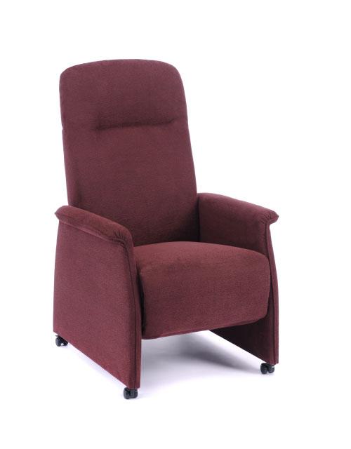 Polstermöbel Sessel rot - Raumausstattung Wallner